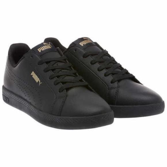 1017deb2a4f9 Puma Ladies Perf Met Leather shoe